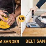 Palm Sander Vs Belt Sander